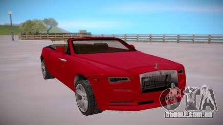 Rolls Royce Dawn 2016 SA StyledLow Poly para GTA San Andreas