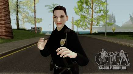 Female Cop LSMPD GTA V para GTA San Andreas