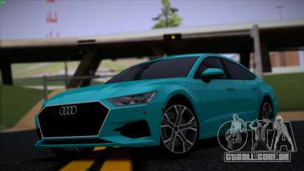 Audi A7 HQ para GTA San Andreas