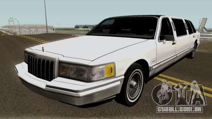 Lincoln Towncar Limo 1991 para GTA San Andreas