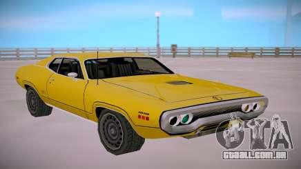 Plymounth GTX 1971 SA StyledLow Poly para GTA San Andreas