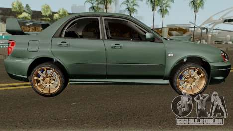 Subaru Impreza WRX STI 2004 Stock para GTA San Andreas