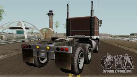 Jobuilt Hauler & Terminator 2 GTA V para GTA San Andreas vista direita