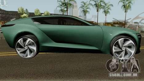 Buick Riviera Concept 2013 para GTA San Andreas vista traseira