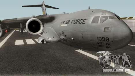 Boeing C-17A Globemaster III para GTA San Andreas