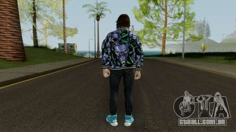GTA Online Skin Male DLC After Hours para GTA San Andreas