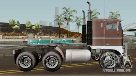 Jobuilt Hauler & Terminator 2 GTA V para GTA San Andreas vista traseira