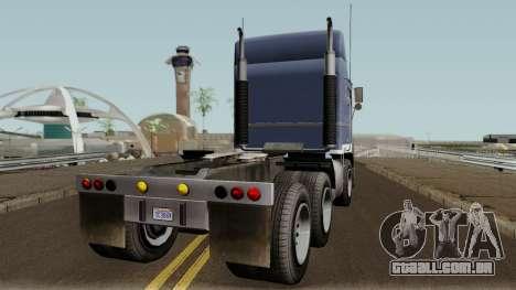 Jobuilt Hauler & Terminator 2 GTA V IVF para GTA San Andreas vista direita