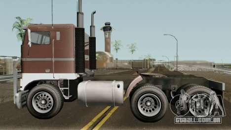 Jobuilt Hauler & Terminator 2 GTA V para GTA San Andreas esquerda vista