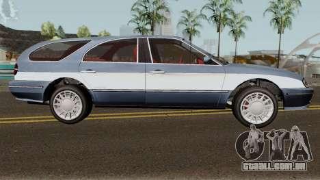 Ford Taurus Wagon 2003 para GTA San Andreas vista traseira