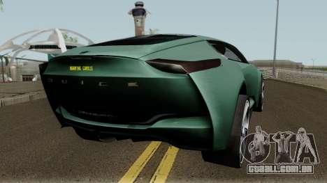 Buick Riviera Concept 2013 para GTA San Andreas vista direita