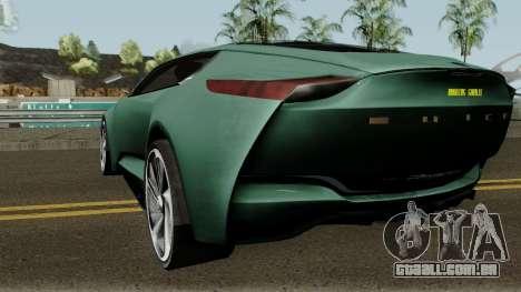 Buick Riviera Concept 2013 para GTA San Andreas traseira esquerda vista