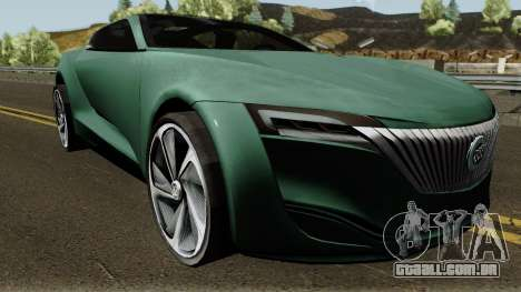 Buick Riviera Concept 2013 para GTA San Andreas vista interior