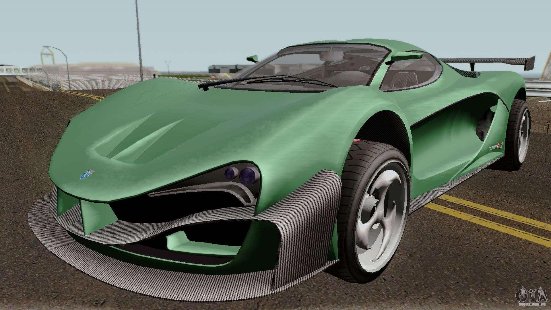 Grotti Turismo RX GTA V para GTA San Andreas