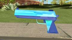Desert Eagle Blue para GTA San Andreas