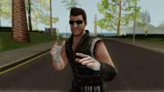 Undead Hunter Johnny Cage MKXM para GTA San Andreas