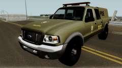Ford Ranger 2008 Police para GTA San Andreas