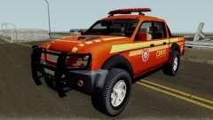 Mitsubishi L200 Brazilian Police para GTA San Andreas