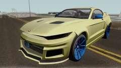 Vapid Dominator GTX GTA V IVF para GTA San Andreas