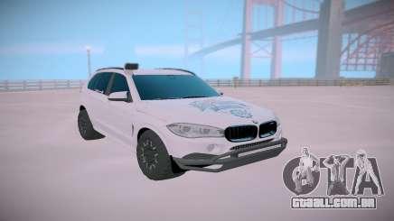 BMW X5M Off-road para GTA San Andreas