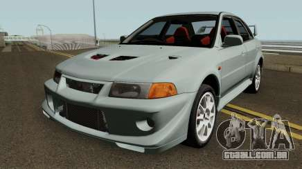 Mitsubishi Lancer Evolution VI HQ para GTA San Andreas