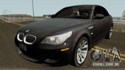 BMW M5 E60 2006 M SPORT para GTA San Andreas