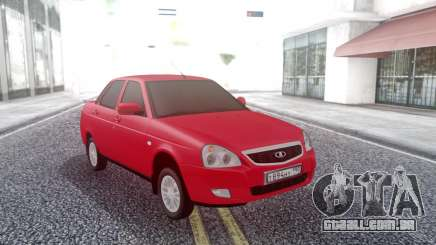 Lada Priora Red para GTA San Andreas