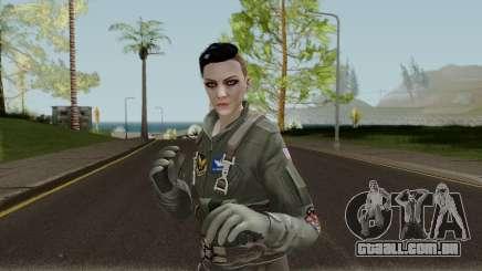 GTA Online Random Skin 6 USAF Pilot para GTA San Andreas
