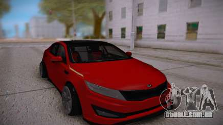 Kia Optima Red para GTA San Andreas