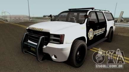 Police Granger GTA 5 para GTA San Andreas