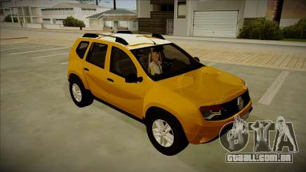 Renault Duster Stock para GTA San Andreas