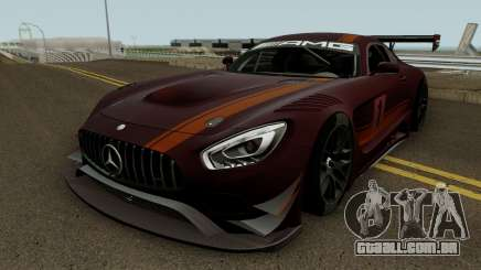 Mercedes Benz AMG GT3 2016 para GTA San Andreas