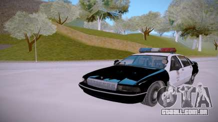 Chevrolet Caprice 1992 Police LQ para GTA San Andreas