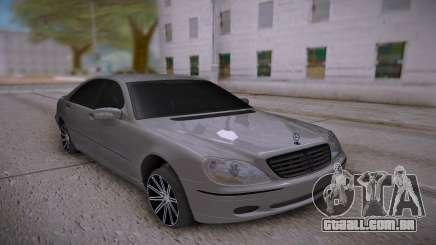 Mercedes-Benz S-class White para GTA San Andreas