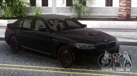 BMW M5 F90 Black para GTA San Andreas
