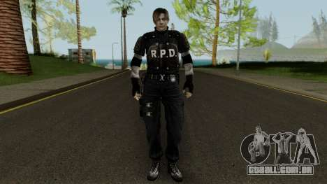 Leon RPD ULTIMATE HD para GTA San Andreas
