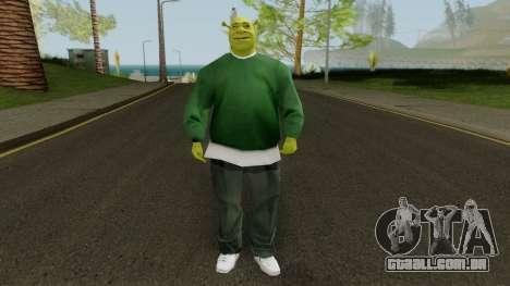 Shrek GSF para GTA San Andreas segunda tela