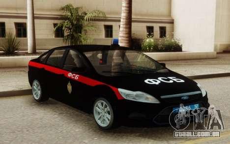 Ford Focus 2 Restyling FSB para GTA San Andreas