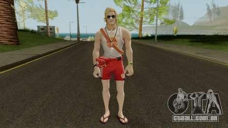 Fortnite Sun Tan Specialist para GTA San Andreas segunda tela