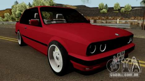 BMW E30 para GTA San Andreas