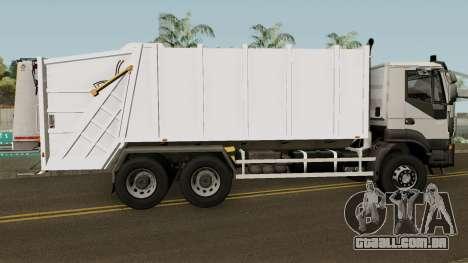 Iveco Trakker Garbage 6x4 para GTA San Andreas