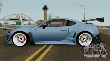 Toyota GTR86 Rocket Bunny Pandem V3 2013 para GTA San Andreas