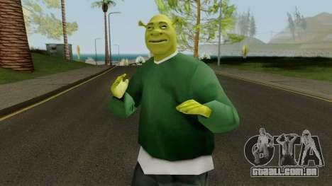 Shrek GSF para GTA San Andreas