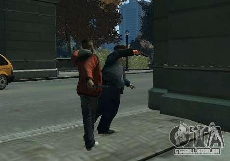 Combate corpo a corpo Mod II para GTA 4