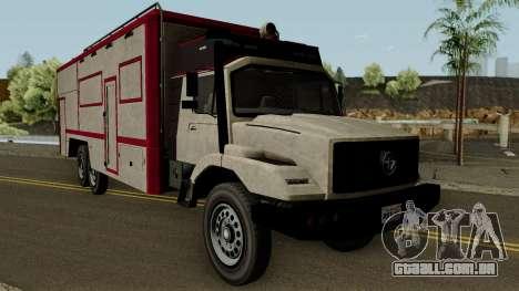Benefactor Terrorbyte GTA V IVF para GTA San Andreas