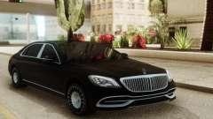 Mercedes-Maybach W222 para GTA San Andreas