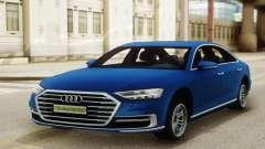 Audi A8 Sedan 2018 para GTA San Andreas