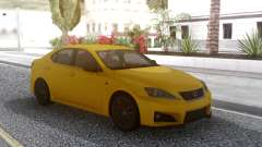 Lexus IS F 2008 para GTA San Andreas