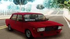 2107 Limousine Vermelho para GTA San Andreas