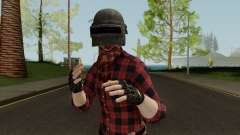 PUBGSkin 3 ByLucienGTA para GTA San Andreas